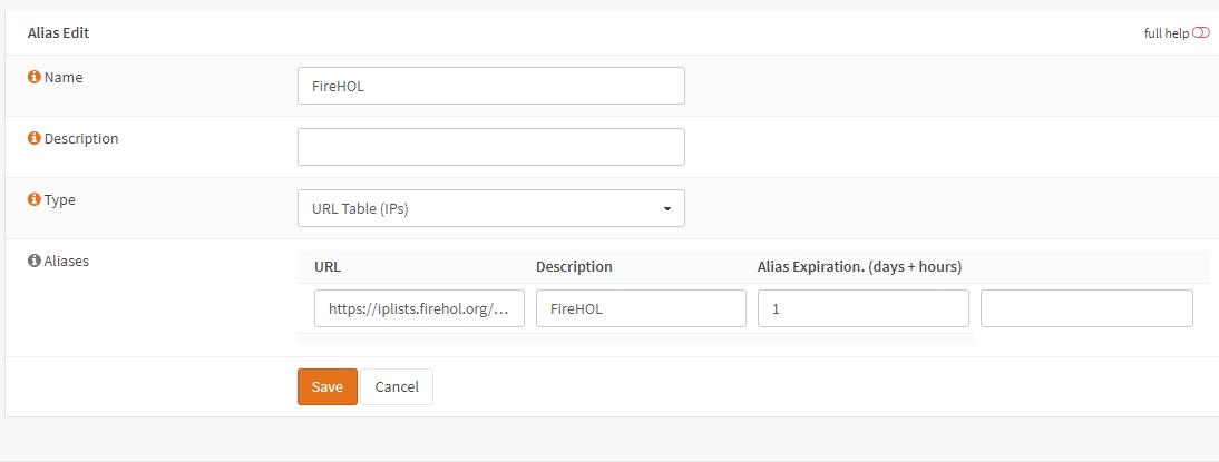 Using pfBlocker features in OPNsense – Routerperformance