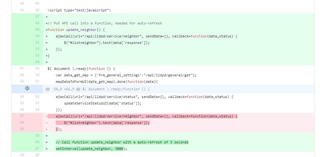 OPNsense: Add auto-update to lldpd plugin – Routerperformance
